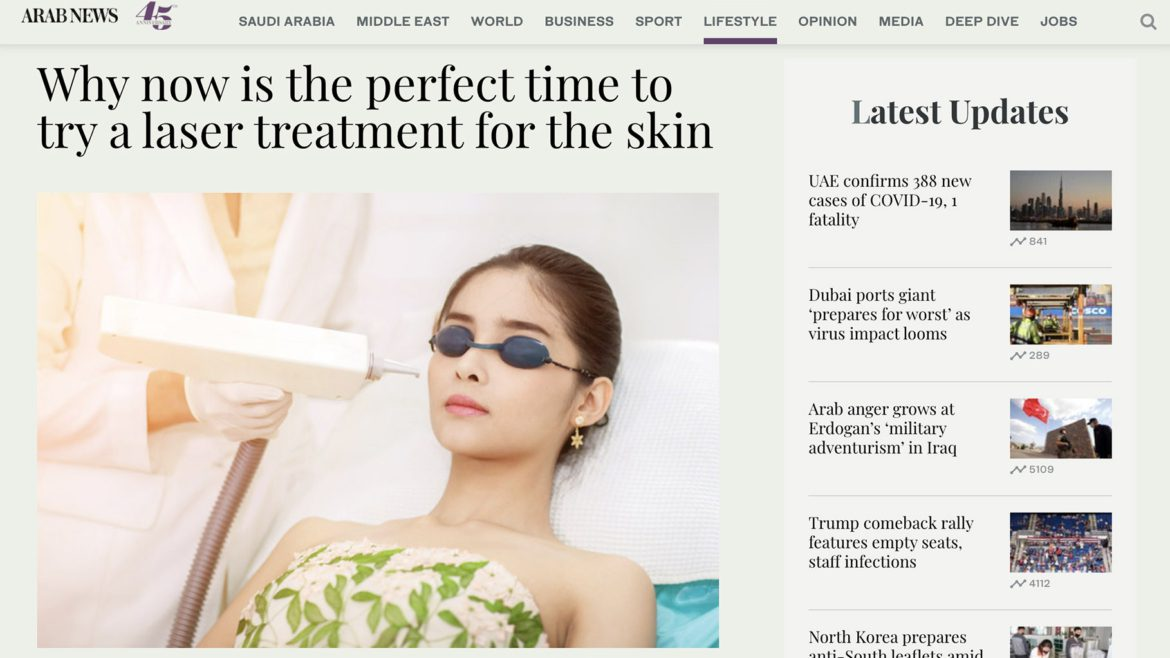 Why now is the perfect time to try a laser treatment for the skin