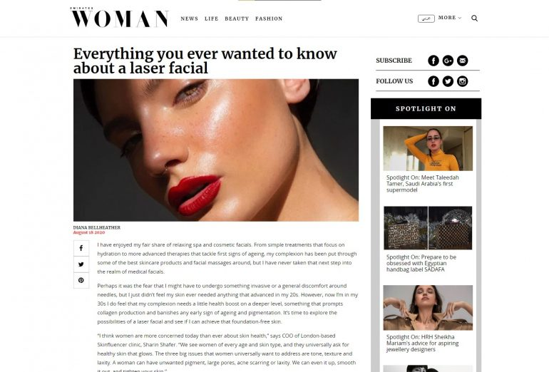 Everything you Ever Wanted to Know About a Laser Facial